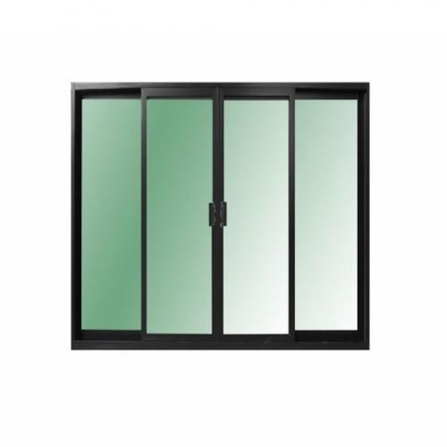 RKT ประตูบานเลื่อน UPVC  300*205 CM สีดำ