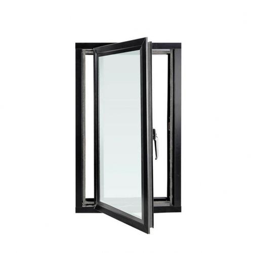 RKT หน้าต่างบานเปิดสีดำ ขนาด 90*150 CM Vinyl open window  90*150 CM Black