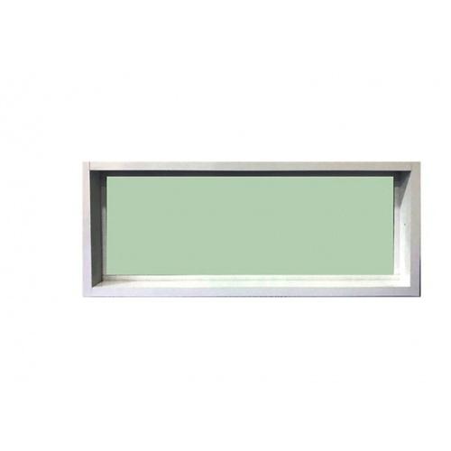 RKT  หน้าต่างอลูมิเนียมช่องแสง   ขนาด 50x80ซม. สีขาว