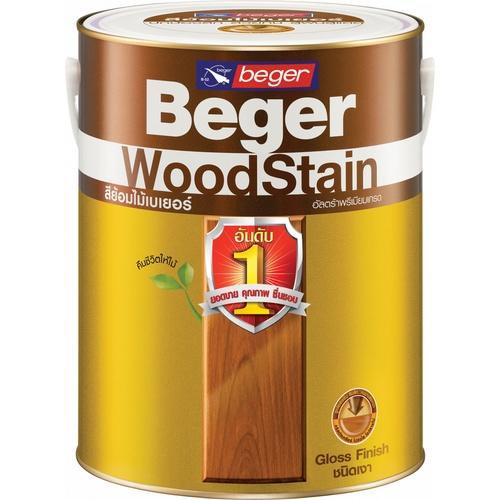 Beger สีย้อมไม้ชนิดเงา 1กล. G-1900สีใส
