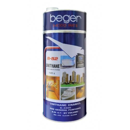 Beger สีทาสระน้ำ ยูรีเทน B-4000 ชนิดสี NO.4323 (เขียวน้ำทะเล)