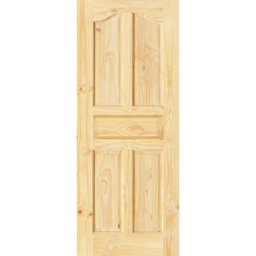 D2D ประตูไม้สนนิวซีแลนด์ ขนาด  70x180cm.  Eco Pine-017