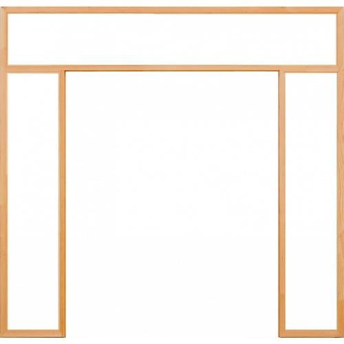 D2D วงกบประตู ไม้ดักลาสเฟอร์ ขนาด 180x220cm. D2D-FJ (com.5)