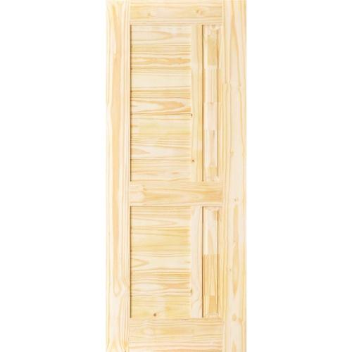 - ประตูไม้สนนิวซีแลนด์ ขนาด 70x200cm.  Eco Pine-007