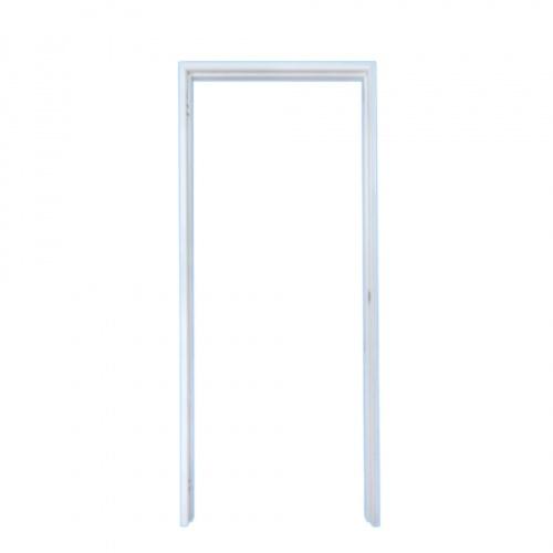PROFESSIONAL DOOR วงกบประตูเหล็ก (ขวา) ขนาด 90x200cm. FR2RW สีขาว