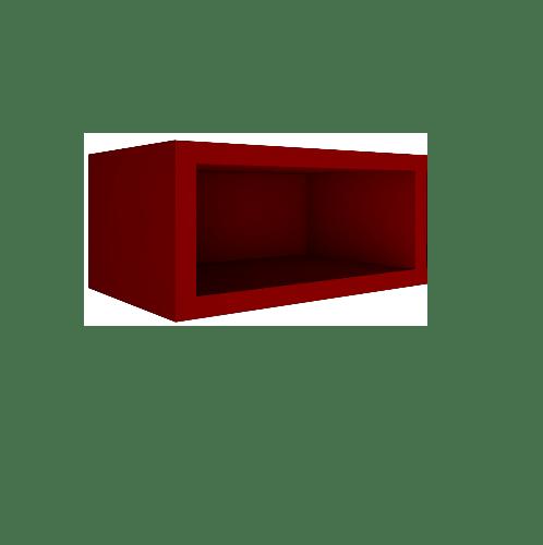 MJ ตู้แขวนเสริม  SAV-WS206-RE  สีแดง