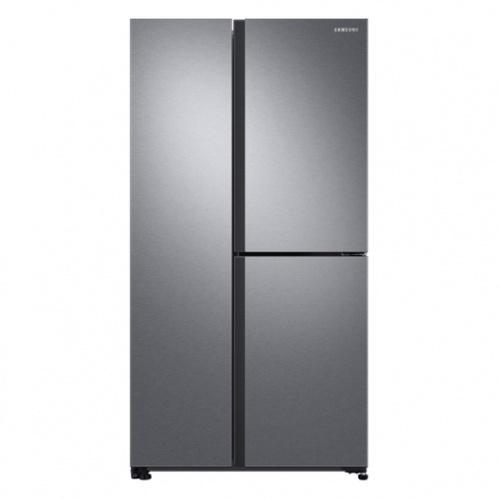 SAMSUNG ตู้เย็น SBS 22.8Q คิว RS63R5581SL/ST  สีเทาอ่อน