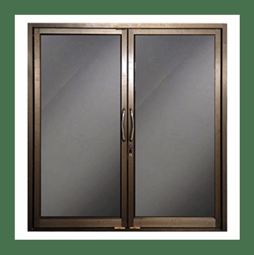 -  ประตูบานสวิงคู่  ขนาด 90x200(100x200)ขอบนอก(2บาน)