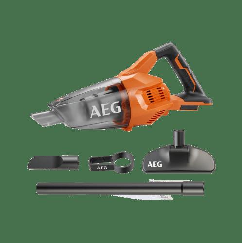 AEG เครื่องดูดฝุ่นไร้สาย 18 โวลท์ (เครื่องเปล่า) BHSS18-0 สีส้ม
