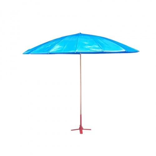 SOFT FACE MASK ร่มผ้าใบคูนิล่อนหนังเทียม 350ไมครอน เบอร์ 60 18 ก้าน 5มม.  SYP6004 สีน้ำเงิน