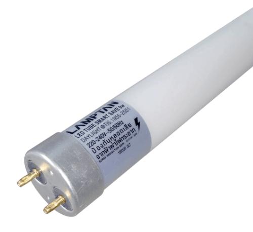 Lamptan หลอดไฟ LED T8 9W สมาร์ทเซฟ แสงเดย์ไลท์  สีขาว