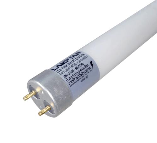 Lamptan หลอดไฟ LED T8 18W สมาร์ทเซฟ แสงเดย์ไลท์ สีขาว
