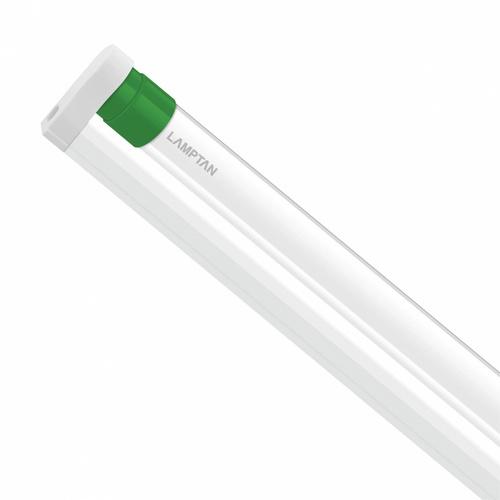 LAMPTAN ชุดราง LED T8 พร้อมหลอด 9W แสงวอร์มไวท์ รุ่นขั้วเขียว Setronic T8 ขั้วเขียว สีขาว