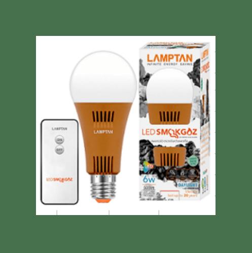 LAMPTAN หลอดไฟแอลอีดี  สโมคแก๊ส 6 วัตต์ / สีขาว
