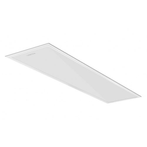 LAMPTAN โคมพาเนลไลท์ 3 แสง ฝังฝ้า-ติดลอย-แขวน LED 40W 30X120 แสงเดย์ไลท์/วอร์มไวท์/คลูไวท์ PANEL LIGHT COLOR SWITCH สีขาว