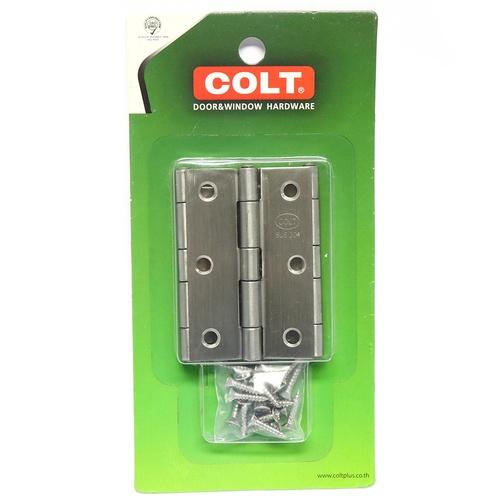 COLT บานพับสแตนเลสCOLT#31-3นิ้วx2นิ้ว(แพ็ค3) บานพับสแตนเลสCOLT#31-3นิ้วx2นิ้ว(แพ็ค3)