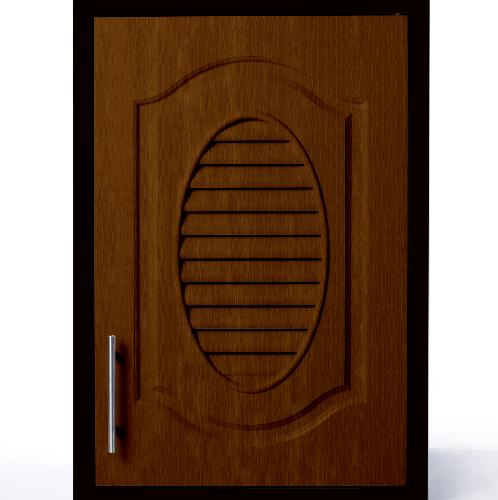 Polywood ตู้แขวนเดี่ยว M-SERIES Nature ขนาด 46x66x34 cm. M-11 สีโอ๊ค