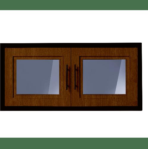 Polywood ตู้แขวนเสริม ขนาด 86x41x34 cm.  M-SERIES Nature  สีโอ๊ค