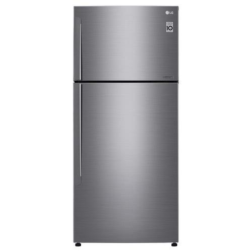 LG ตู้เย็น 2 ประตู  ขนาด 17.4 คิว GN-602HLCU สีเงินแพตตินั่ม