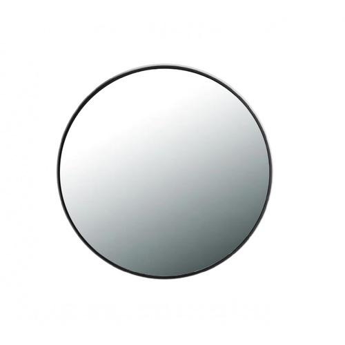 NICE กระจกมีกรอบทรงกลม (ST) ขนาด 60x60cm วีคเกน PQS-XS6060-B  สีดำ