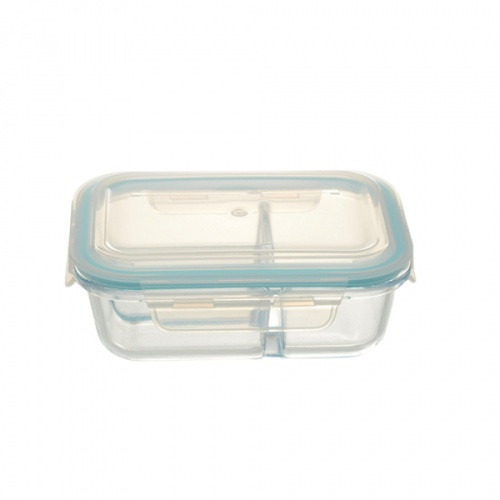 AILO กล่องแก้วถนอมอาหาร 640ml. BRIGHT-01