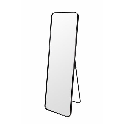 NICE ชุดกระจกอะลูมิเนียม ขนาด 40X150 ซม. ราเซล สีดำ