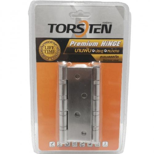 TORSTEN บานพับสแตนเลส  ขนาด 4X3X2 มม. สีสเตนเลส