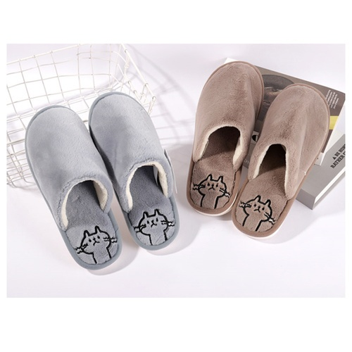 USUPSO รองเท้าในบ้าน  ลายลูกแมวไซส์ 41-42