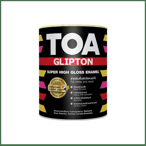 TOA ทีโอเอ กลิปตั้น สีเคลือบกึ่งเงา 1 กล #SG100 -