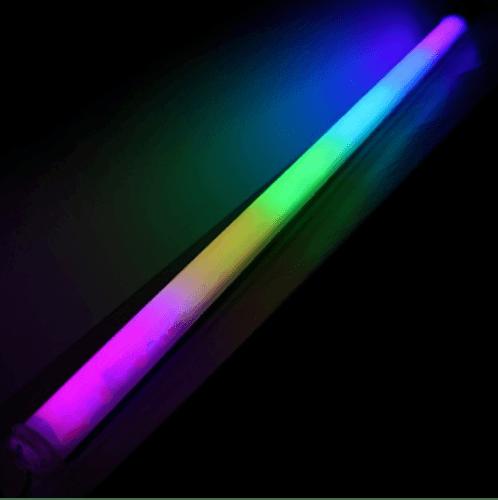 G-LAMP หลอดไฟประดับ LED 18W กันน้ำ ขนาด120 cm.  คละสี T8-RGB