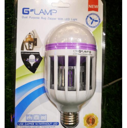 G-LAMP หลอดบับประหยัดไฟ LED  พร้อมกำจัดแมลง 2in1 12W