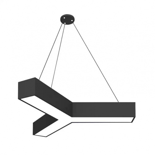 SYLLA โคมไฟแขวนเพดาน LED Y-bar  48W RP083B-DL สีดำ