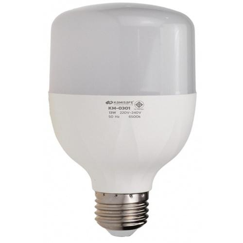 Kamisafe หลอดไฟ LED BULB LIGHT 13W  KM-0301 สีขาว
