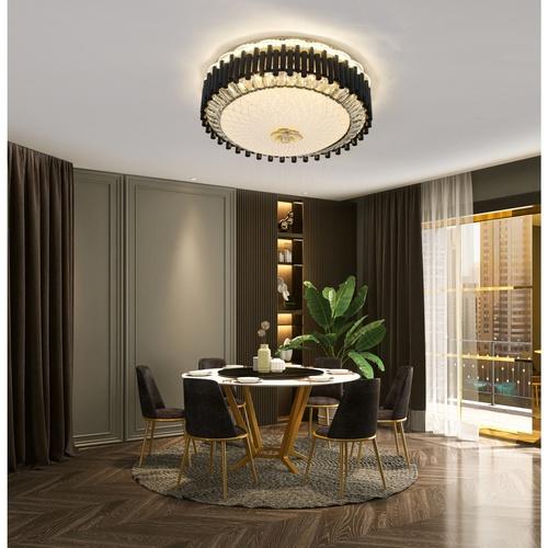 EILON โคมไฟเพดานคริสตัล 60W ปรับได้ 3 แสง   KDX2046/500
