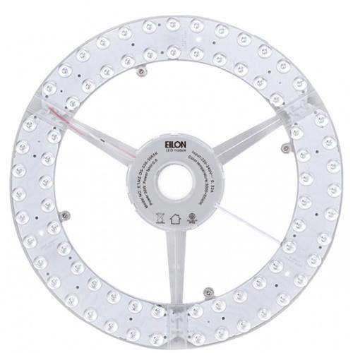 EILON หลอดไฟ LED แม็กเน็ต โมดูล วงกลม 36W ปรับได้ 3 แสง  ETMZ-DS-036-3000-6500K สีขาว