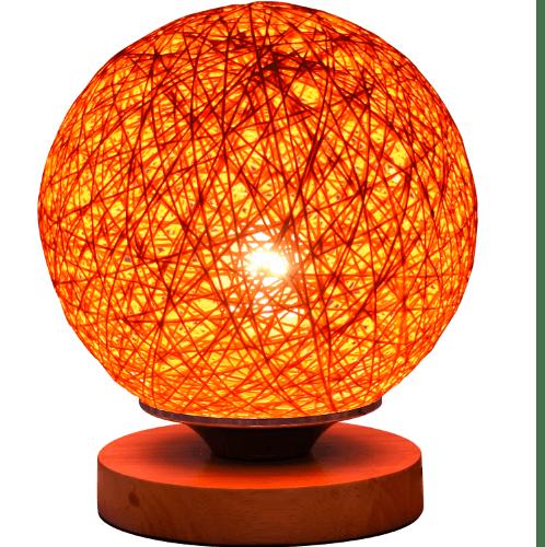 EILON โคมไฟตั้งโต๊ะ Fancy  MT60386-1  สีส้ม