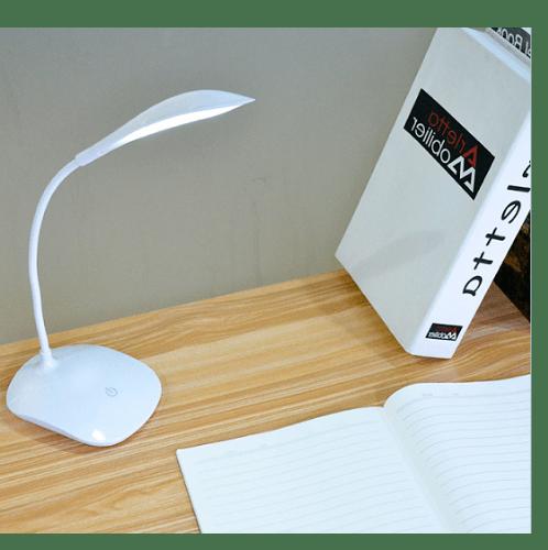 EILON โคมไฟตั้งโต๊ะ Modern  LE-1911 สีขาว
