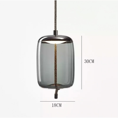 EILON โคมไฟแขวนกระจกลอฟท์ ZS-042