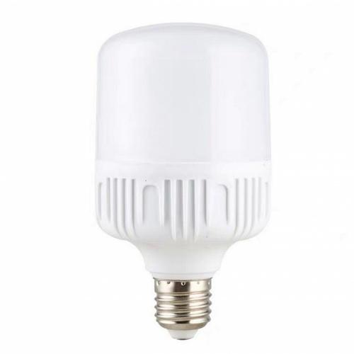 EILON หลอดไฟ LED Bulb ทรงกระบอก 6500K DL 30W  XY-QP-030  สีขาว