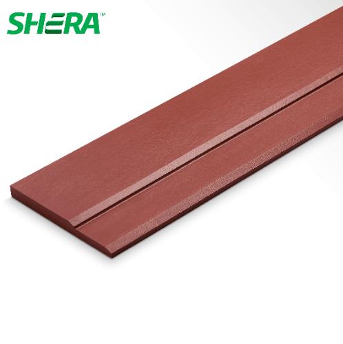 SHERA ไม้เชิงชาย ผิวเรียบ ขนาด 2.2x23.5x300ซม.สีแดงมะฮอกกานี วันพลัส