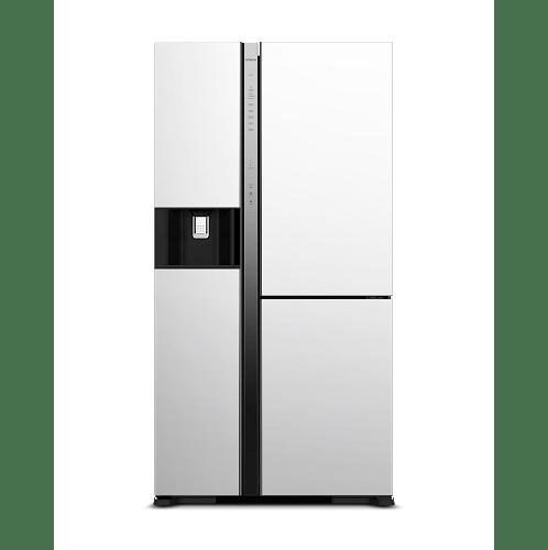 HITACHI ตู้เย็น Side by side 22.4 คิว    RMX600GVTH0 MGW