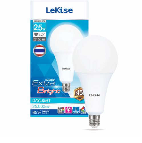 LEKISE หลอดไฟ  LED A95 Klassic 25W EX - DL  ขาว
