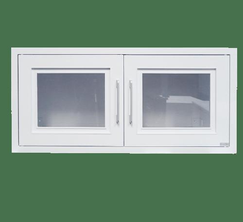 CLOSE ตู้แขวนเสริม ขนาด 86x41x34 ซม. ABS - AC สีขาว