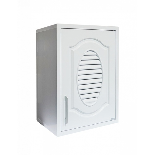 CLOSE ตู้แขวนเดี่ยว ABS ขนาด 46x66x34 ซม. CLEO สีขาวคลาสสิค