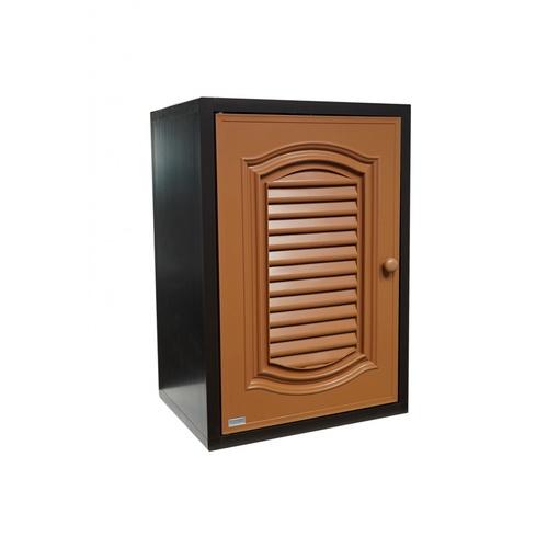 CLOSE ตู้แขวนเดี่ยว PVC ขนาด 46x66x34 CM. CASTELLO สีสัก