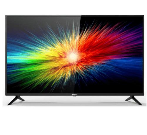 HAIER โทรทัศน์ FHD LED ขนาด 43 นิ้ว LE43K9000T สีดำ