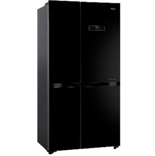 Haier ตู้เย็น side by side ขนาด 16 คิว   HRF-MD456GB  สีดำ