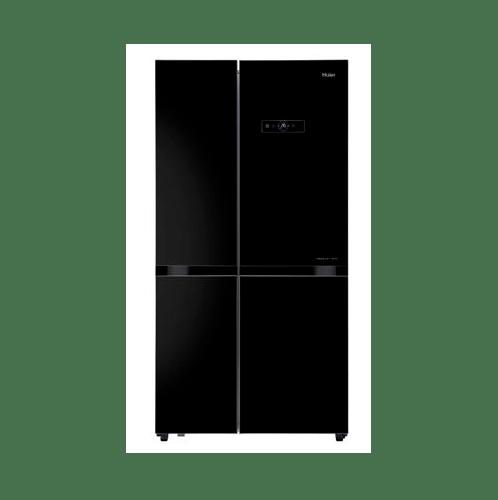 Haier ตู้เย็น side by side ขนาด 18.6 คิว  HRF-SBS528GB สีดำ