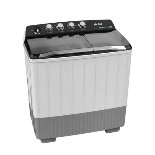 Haier เครื่องซักผ้า 2 ถัง กึ่งอัตโนมัติ 14 กก.  HWM-T140 OXI สีเทาอ่อน