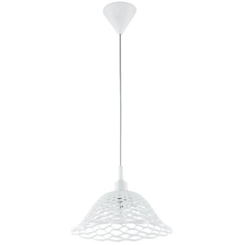 EGLO โคมไฟห้อย  MARZIO E27 1x60W สีขาว